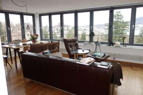 Helle 3-Zimmer-Wohnung in Jahrhundertwendevilla - mit See- und Gebirgsblick