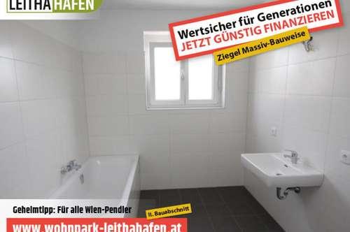 Haus 17! Doppelhaushälfte im Wohnpark Leithahafen! -wpls
