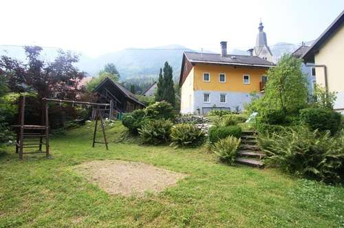 *** Bad Bleiberg: Bastlerhaus mit großem Garten und Gartenhütte ***