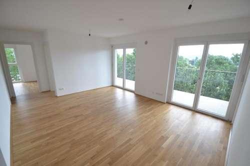 Puntigam - Brauquartier - Erstbezug - 72m² - 4 Zimmer Wohnung - riesiger Balkon