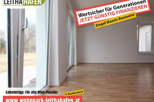 Haus 15! Doppelhaushälfte im Wohnpark Leithahafen! (Eckhaus)