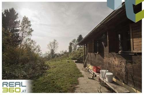 Südhang, Grundstück mit Donau- und Alpenblick - 15min nach Linz!!