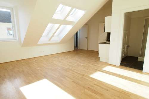 moderne 2 Zimmerwohnung im DG