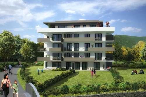 Landsitz Villach 4-Zimmer Gartenwohnung