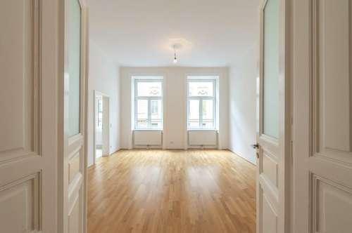 Modernisierte 5-Zimmer-Altbauwohnung mit Balkon auf der Mariahilfer Straße 31 !!