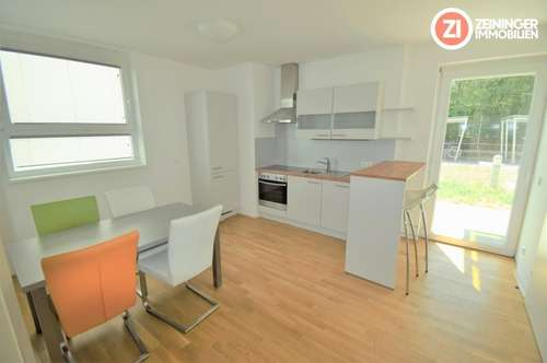 UMZUGSAKTION - 1 MONAT MIETFREI - Vollmöblierte 2 ZI-Wohnung in toller Lage mit Garten und Küche - Nähe MED-Uni