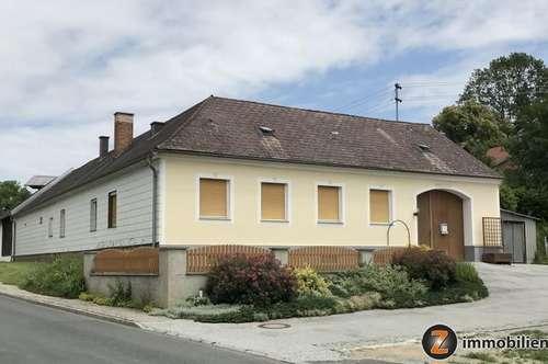 Künstlerdorf Buchschachen: Vierkanthof in schöner Dorflage!