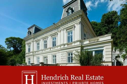 Sonnige Gründerzeit-Villa mit weitläufigem Park