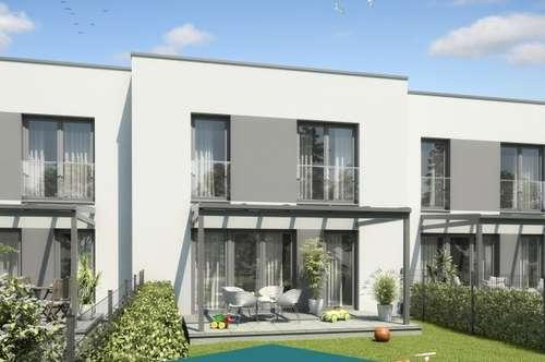 HAPPY FAMILY | Neubau-Reihenhaus: Garten - Carport - Smart Home Ausstattung
