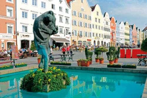 Gediegenes und ruhiges wohnen an einer der Toplagen in der Barockstadt Schärding am Inn