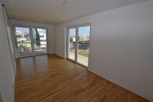 Jakomini - 51m² -  traumhafte 2,5 Zimmerwohnung mit riesigem Eckbalkon - Parkblick