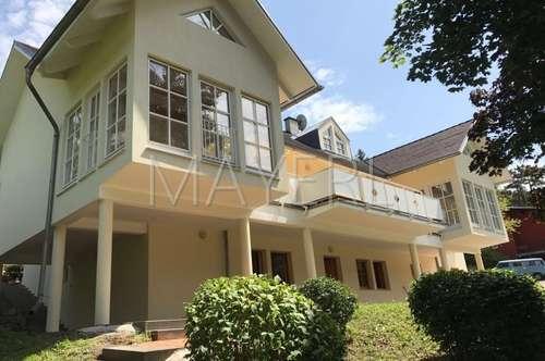Neubauvilla in absoluter Grünlage - geeignet für 1-2 Familien