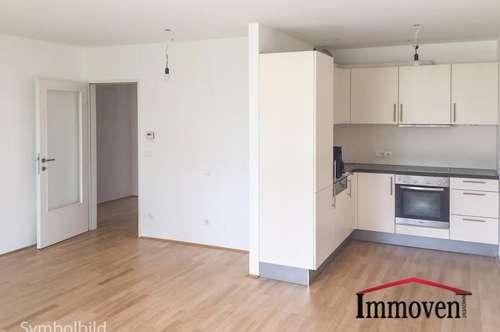 2-Zimmer Neubau Terrassen-Wohnung mit perfektem Grundriss und Garten - beziehbar ab 01.10.2018
