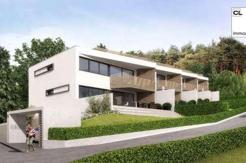Neues Wohnprojekt am Wörthersee. 3-Zimmer-Gartenwohnung mit Seeblick auf den Wörthersee zu kaufen