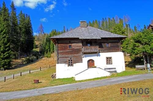 ##Geschichtsträchtiges Bauernhaus im Luftkurort Flattnitz/Kärnten##