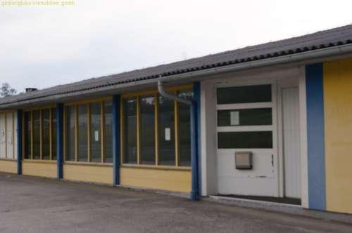 Halle für Waren- oder Personentransporte, auch für Großhandel geeignet