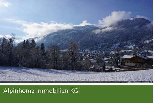 Einfamilienhaus mit Einliegerwohnung in Sonnenlage Kitzbühels - direkt an der Piste!