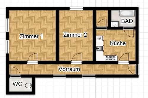 PROVISIONSFREI FÜR DEN MIETER! 2 Zimmer Altbauwohntraum in Bestlage!