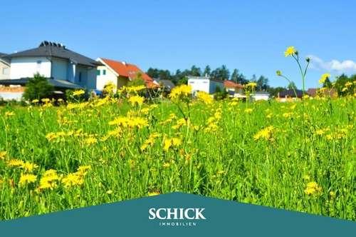 WERNBERG | Baugrund in exklusiver Lage: absolut ruhig - familienfreundlich - sonnig - Mittagskogelblick