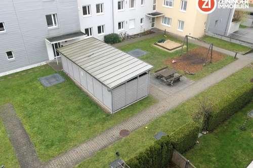 !Provisionsfrei! Geförderte 3-ZI-Whg. mit Loggia und Garten