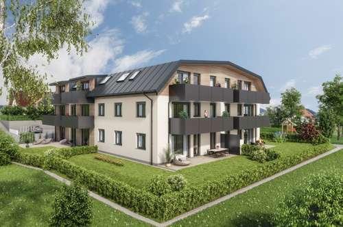 GREEN LIVING: 3-Zimmer-Neubauwohnung im Dachgeschoss in Wals!