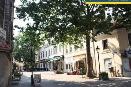 Wohnen in der Fußgängerzone Mödling