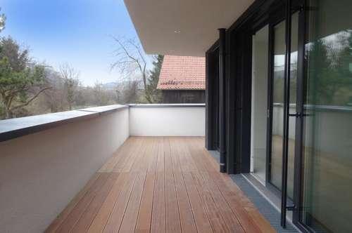 FRÜHLING IM NONNTAL:  Exklusive 2-Zimmer Wohnung mit XXL-Terrasse!