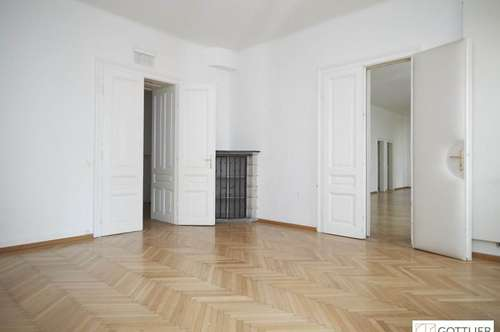 Bestlage Palais Liechtenstein! Exquisite 4-Zimmer-Stilaltbau-Gartenwohnung mit westseitiger Terrasse und direktem Gartenzugang