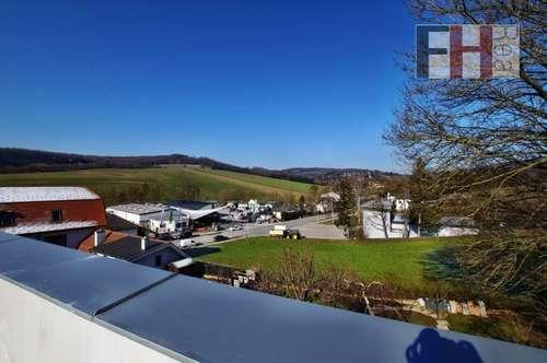 Provisionsfreier Erstbezug! Schöne 4 Zimmer-Wohnung im Eigentum, herrliche 120m² Dachterrasse, Fernblick, schlüsselfertig!