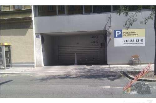 Garage Wimbergergasse 14 in XXL - Size zu vermieten