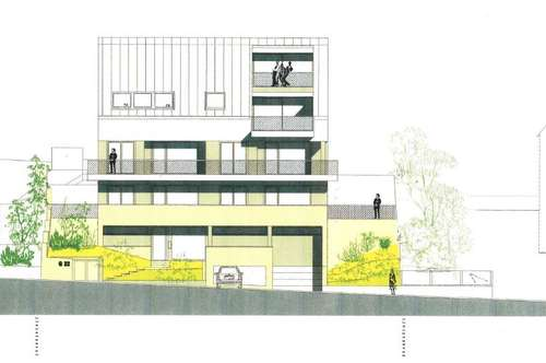 141 m² Dachmaisonette/NEUBAU mit Sonnendachterrasse uneinsehbar !  AM FROSCHBERG - mitten im Grünen und doch so zentral