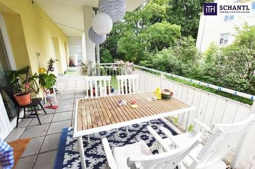 Wohnen beim Türkenschanzpark! TOP-Raumaufteilung + Ruhe- und Grünlage + Herrliche, hofseitige Terrasse! Jetzt zugreifen!
