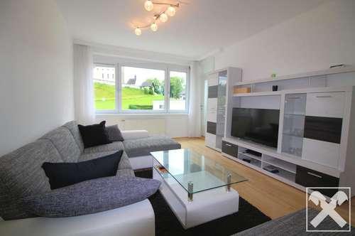 Grünblick, helle 2-Zimmer-Wohnung in Bergheim