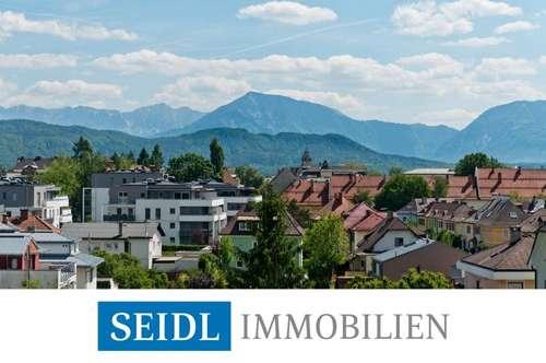 Helles, freundliches Designer-Penthouse mit außergewöhnlichem Bergblick