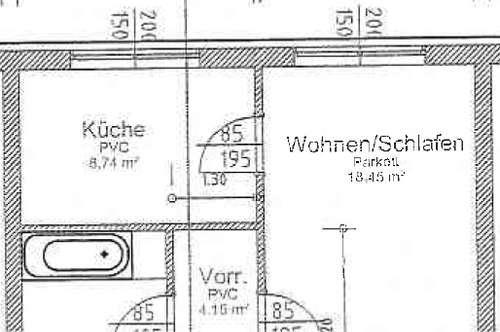 Schöne - Ein- Zimmer - Wohnung 39 m² - Nähe Plus City & UNO Shopping! PERFEKTE INFRASTRUKTUR!