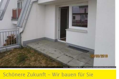 Günstige 1-Zimmerwohnung mit Terrasse zu vermieten!