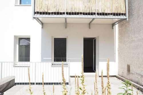 Moderne Zweizimmerwohnung mit großer Terrasse in der Grillparzerstraße, 55 m² WNFL + Terrasse, Küche möbliert, sofort beziehbar! Nähe Musiktheater!