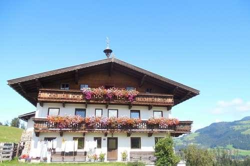 Große Dachgeschoss Wohnung im Bauernhaus in traumhafter Alleinlage –  Nähe Skigebiet Hopfgarten