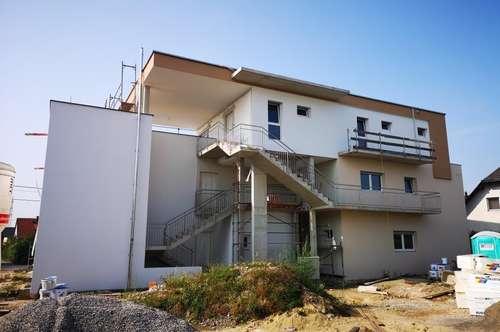 2 -Zimmer Neubauwohnung mit ca. 47m² großem Eigengarten/ Süd-Ausrichtung/ Straßgang