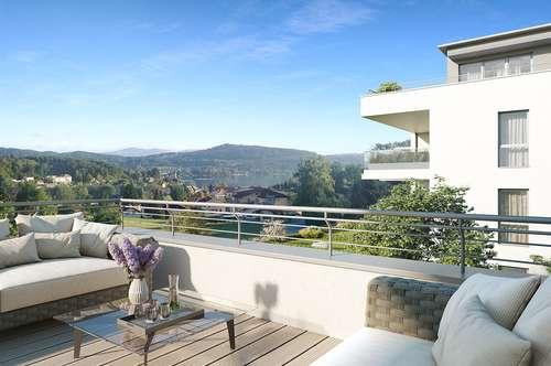Panoramaperle - Reifnitz am Wörthersee! Lifestyle-Penthouse mit schönem Seeblick!