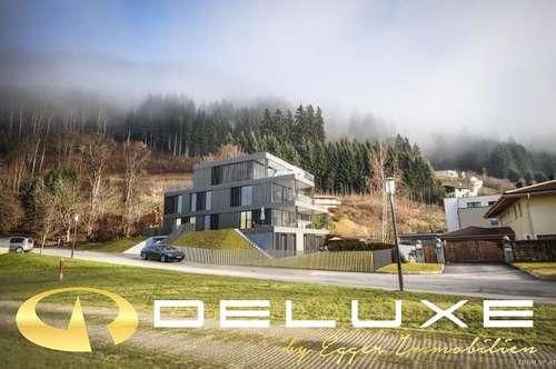 Zell am See - Thumersbach: Neubau- Gartenwohnung auf 2 Etagen in Seenähe