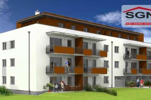 Erstbezug 3-Zimmer Genossenschaftswohnung im 1. OG. mit Schwimmteich/Balkon in Petzenkirchen