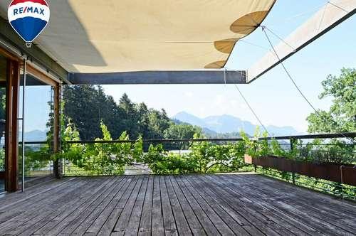 Puristische Wohnung umgeben von viel Natur und Weite
