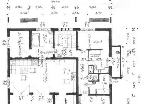 Ruhige Zentrale 55m² Wohnung