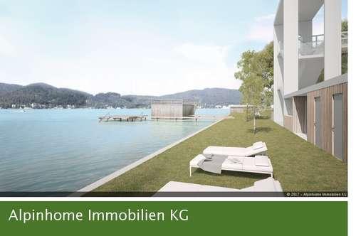 Provisionsfrei - Atemberaubende Penthousewohnung mit sensationellem Seeblick am Wörthersee