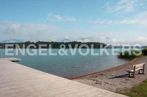 Seewohnung zur Miete in Bestlage - Faaker See