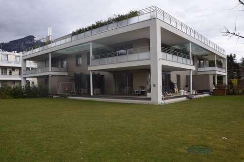 AN DER SALZACH IN AIGEN / PARSCH: Exklusive 4-Zimmer-Garten-Wohnung