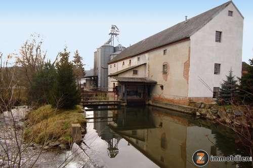 Mühlenliebhaber aufgepasst! Schöne Mühle nähe Oberwart