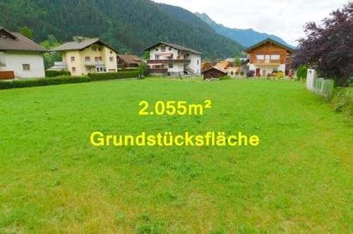 Baugrund mit 2.055m² in der Ferienregion Gortipohl / St. Gallenkirch im schönen Montafon!