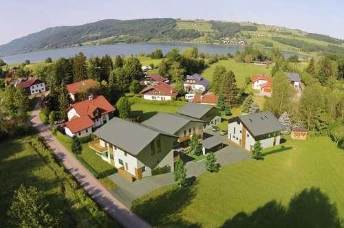 KAUFANBOT LIEGT VOR!!! Hochwertige 4 Zimmer Neubauwohnung mit Terrasse und Eigengarten am Irrsee!